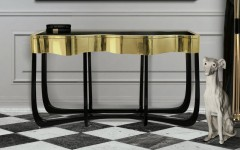25 Modern Console Tables for Contemporary Interiors contemporary interiors 25 Modern Console Tables for Contemporary Interiors ft 240x150