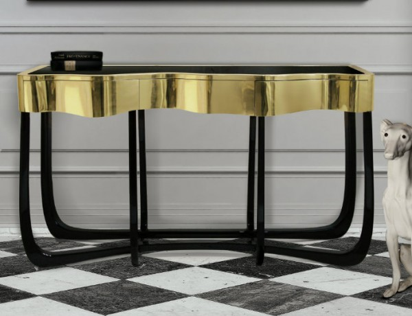 25 Modern Console Tables for Contemporary Interiors contemporary interiors 25 Modern Console Tables for Contemporary Interiors ft 600x460