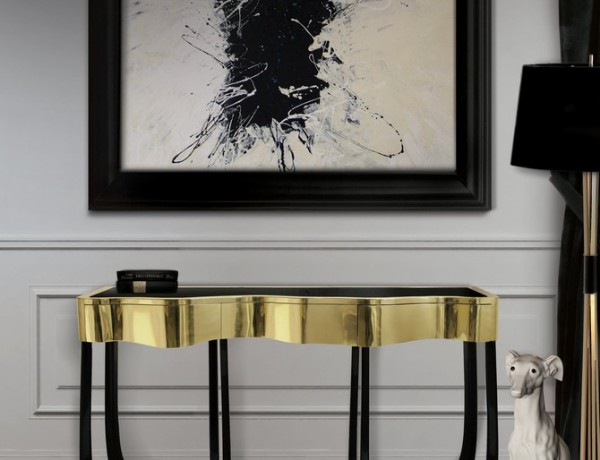 modern console tables Top 20 Modern Console Tables sinuous 1 600x460