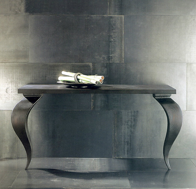 Black Console Table