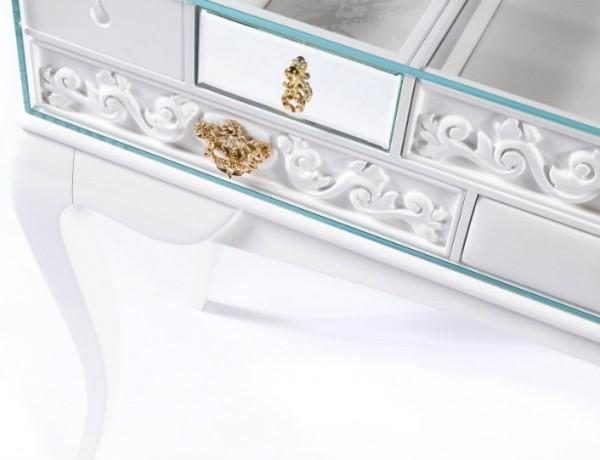 Mondrian White Console Table by Boca do Lobo small console tables 5 Small Console Tables ft 6 600x460