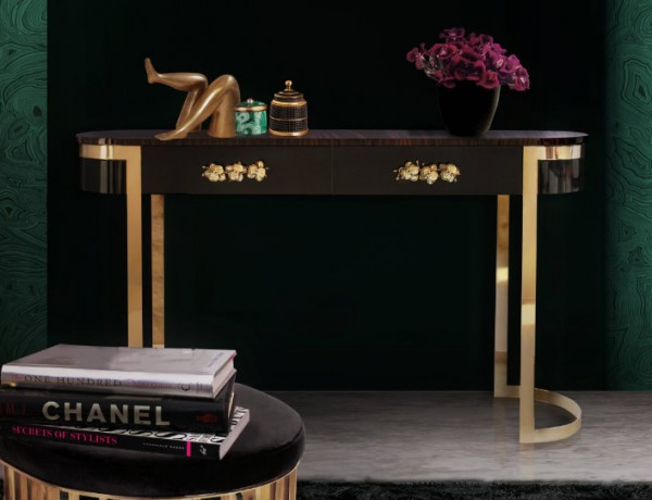 Black Console Table by Koket Contemporary Console Tables Contemporary Console Tables by Koket ft3 600x460