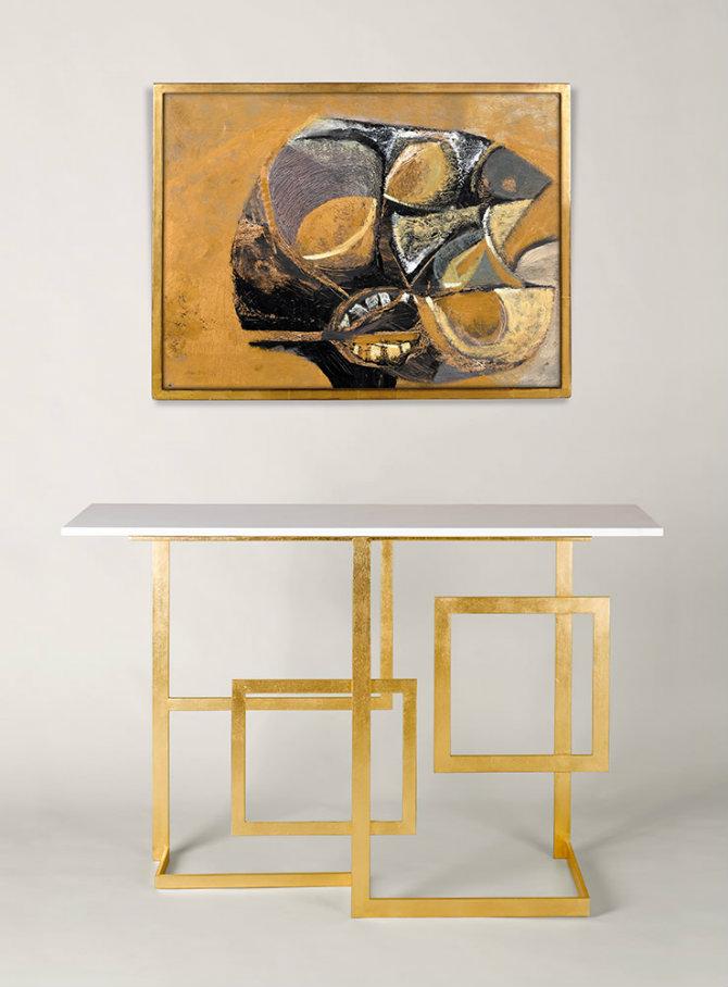 Lexington Modern Console Table by Adam Williams Design