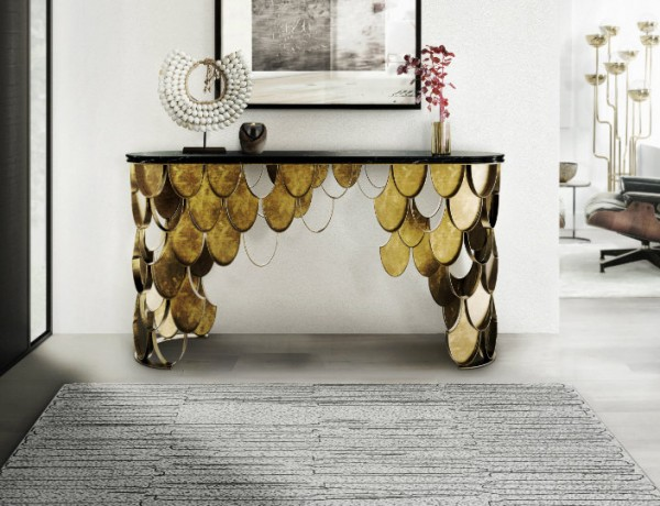 modern console table modern console table How to Pick the Perfect Modern Console Table for Your Dining Room ft 2 600x460