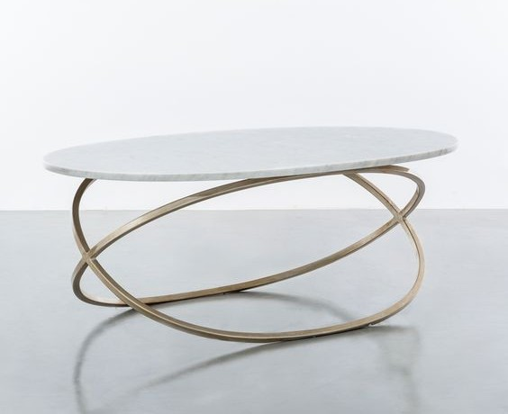 oval brass console table oval brass console table The MCT Selection of Oval Brass Console Table Designs oval console table 564x460