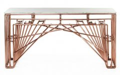 copper console tables Copper Console Tables to Compliment Your Interior copper tables Brooklyn Barcelona for web 240x150