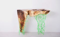 console tables Amazing Console Tables From Ancient Trees by Maximo Riera maximo riera millennial console collection designboom01 240x150
