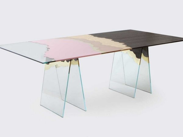 translucent console table Hot Trend: 7 Translucent Console Tables translucent console tablesMilantrace2014 Atelier Biagetti Yellowtrace 01 600x452