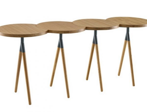 Console Table Ideas Console Table Ideas console dezeen Itisy table by Philippine Lemaire for Ligne Roset 4 600x460
