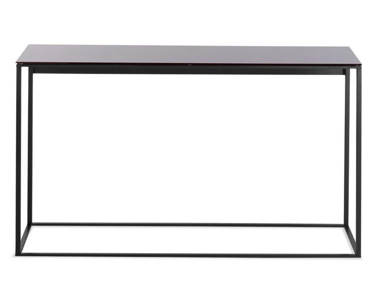 console table ideas Console Table Ideas consoleminimalista console table black black mirror front 2 750x600