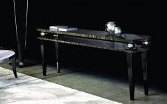 Console Tables Elegant Black Modern Console Tables macassar ebony console 1 240x150