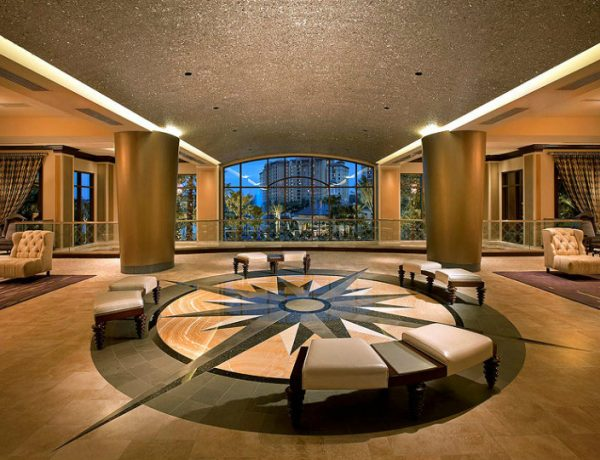 Console Tables Modern Console Tables for Hotel Entryways Luxury Hotel Photographer Foyer Wyndham Grand Orlando Florida 600x460