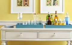 console table How to Match Wall Colors with your Modern Console Table dusted yellow 1 240x150