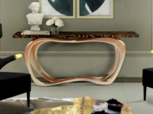 console table Where to find the Best Modern Console Tables infinity cap 600x449