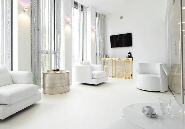 white interior design All in White Interior Design with Consoles Bones And Brain Clinic Boca Do Lobo Project 02 600x419