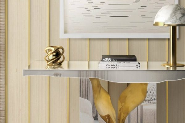 foyer design 15 Console Tables for a Luxury Foyer Design 000 1 600x400