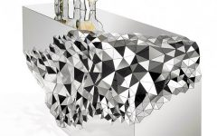 Console Table Mirrored Geometric Stellar Console Table by Jake Phipps COVER 2 240x150