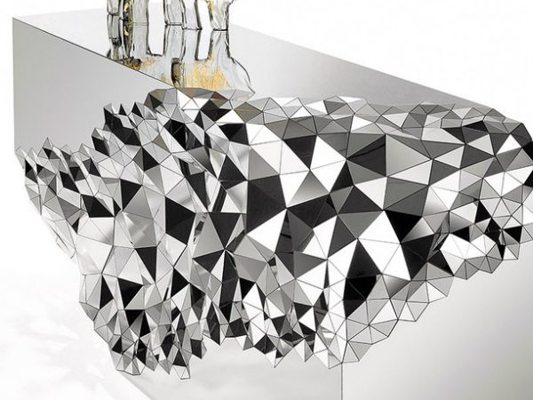 Console Table Mirrored Geometric Stellar Console Table by Jake Phipps COVER 2 600x450