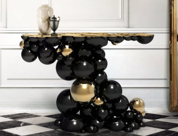 console tables 10 Inspiring Artistic Console Tables Ideas Newton Console feature 600x460