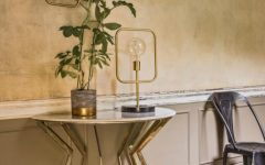 half moon console Wonderful Half Moon Console Tables You Need To See COVER 240x150