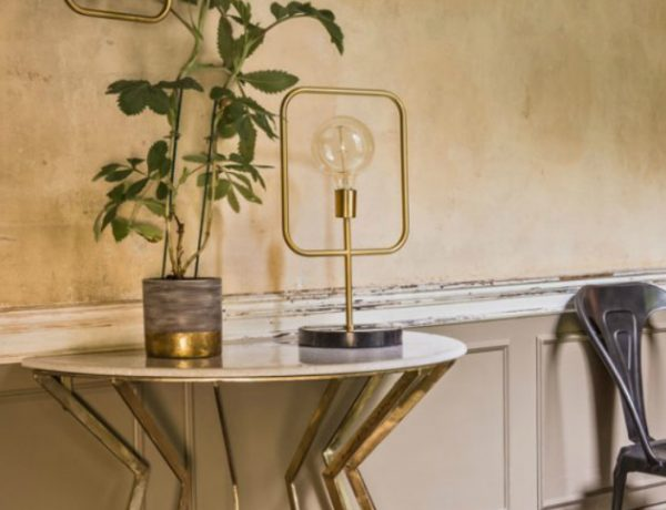 half moon console Wonderful Half Moon Console Tables You Need To See COVER 600x460