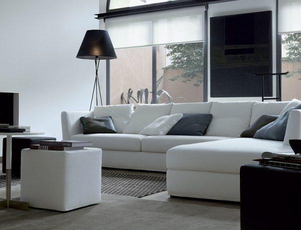 Living Room Design inspiration: Black and White Living Room Design inspiration Black and White Living Room18 1 600x460