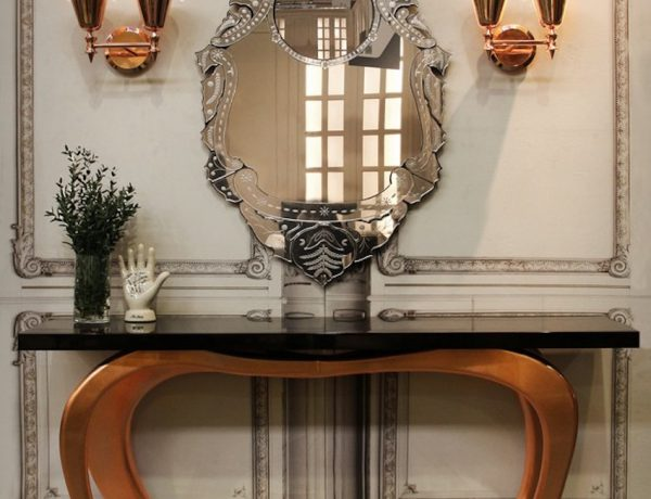 Console Table The Best Modern Mirrors to Hang Over a Console Table The Best Modern Mirrors to Hang Over a Console Table15 1 600x460