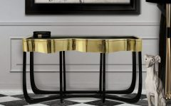 Console tables Top Black and Gold Console Tables for Your Interior Top Black and Gold Console Tables for Your Interior 15 240x150