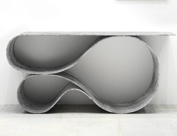 Console Table The New Sculptural Console Table by Neal Aronowitz featured 10 600x460