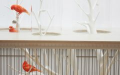 Modern console table Modern console tables: the bird in the cage feature 240x150