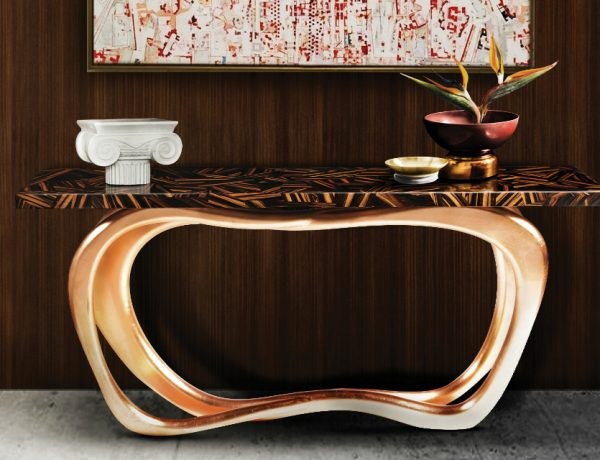 contemporary console tables How To Decorate Your Home With Contemporary Console Tables feature 7 600x460