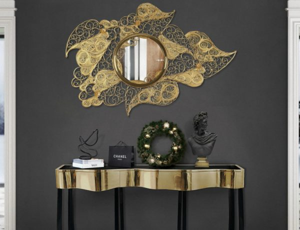 console tables The Most Expensive Console Tables to Buy in 2018 filigree entryway natal 600x460