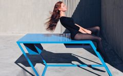 XYZ 60º Degree Console Tables By XYZ fffffffffffffff 240x150