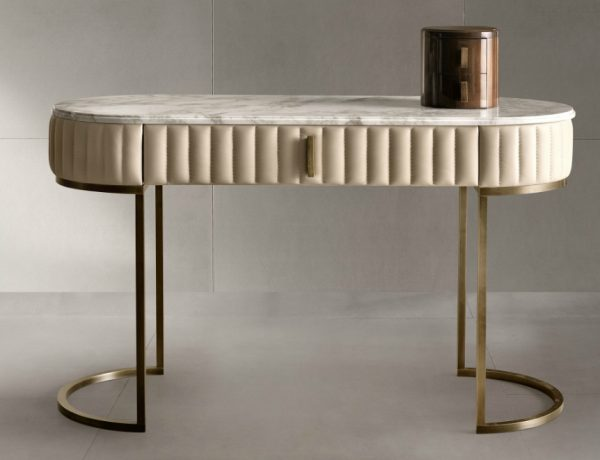 dressing table How to Turn Your Console Table on a Dressing Table How to Turn Your Console Table on a Dressing Table Feature 600x460