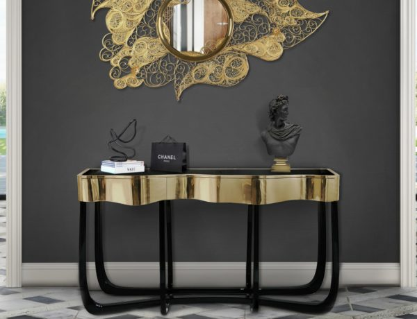 modern console tables The Best Modern Console Tables for a Luxury Entryway The Best Modern Console Tables for a Luxury Entryway Featured 600x460