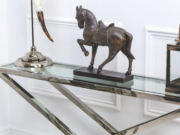 console table Incredible Steel Console Tables for a Luxury Home zfeatured 1 600x451
