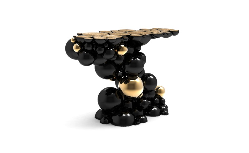 modern console table How to Choose a Modern Console Table newton console limited edition boca do lobo 03