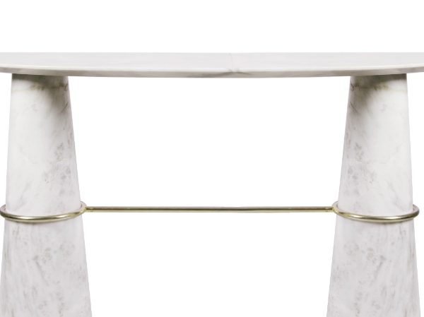 marble console tables The Best Marble Console Tables to your Home Decor zfeatured 2 600x449