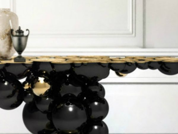console table The Best Console Table Designs for your Living Room zfeatured 6 600x450