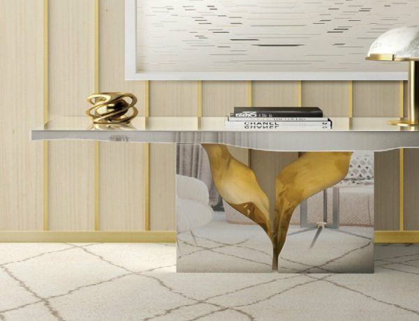 modern console table Find Some Tips About How to Choose a Modern Console Table Featured Image2 600x460