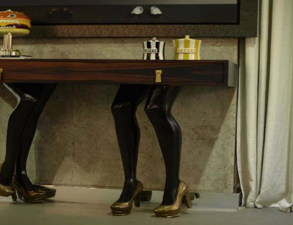 contemporary console tables Sensual and Contemporary Console Tables by Vick Vanlian featured image1 600x460