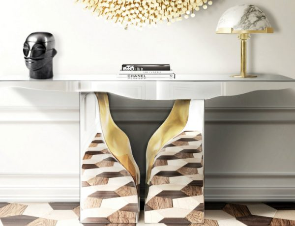 modern console tables Exploring the Nature Through Modern Console Tables lapiaz 600x460