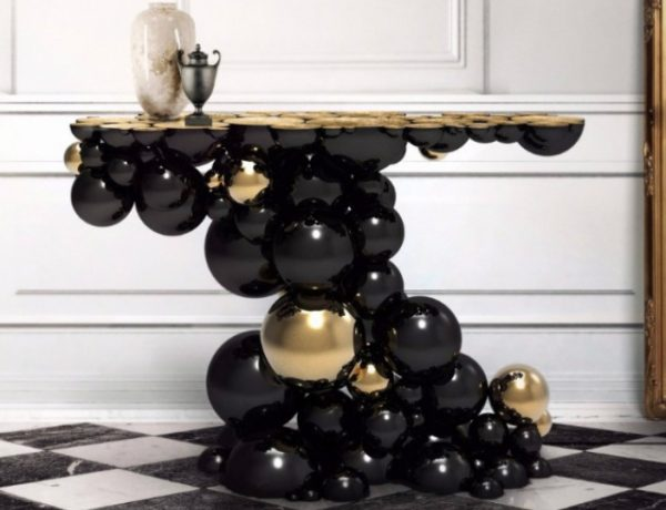 Luxury Black Console Tables Luxury Black Console Tables for a Modern Interior Design Luxury Black Console Tables For a Modern Interior Design featured 600x460