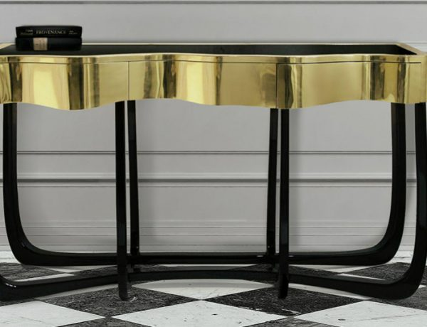 modern console tables 10 Astonishing Modern Console Tables Designs 17 600x460