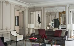 living room Elegant Entryway and Living Room Designs by Champeau & Wilde 4 240x150