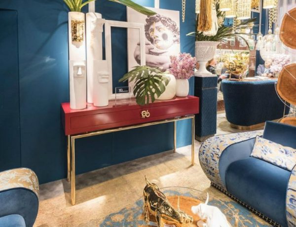 console table Colorful Console Table Designs to Spice Up Your Interior VG New Trend 600x460