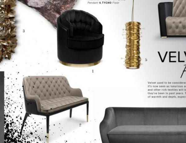 living room design Get Inspired by Top Living Room Design Trends velvet 600x460