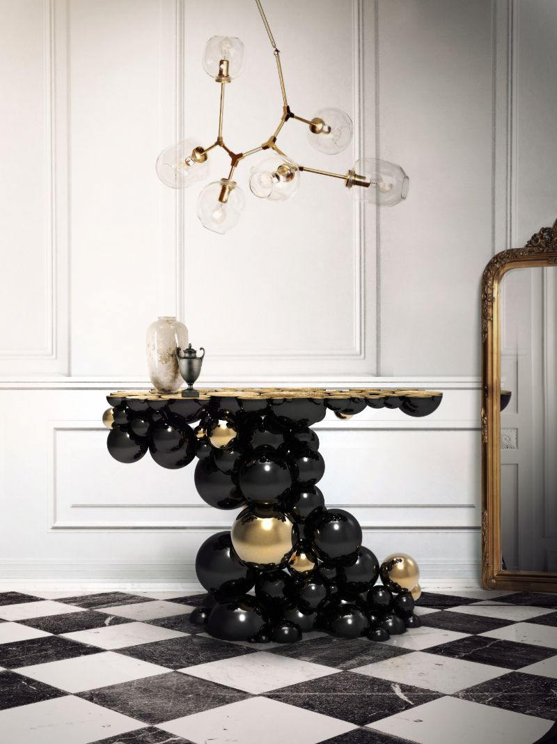 modern console table How to Choose a Modern Console Table newton console limited edition boca do lobo 01