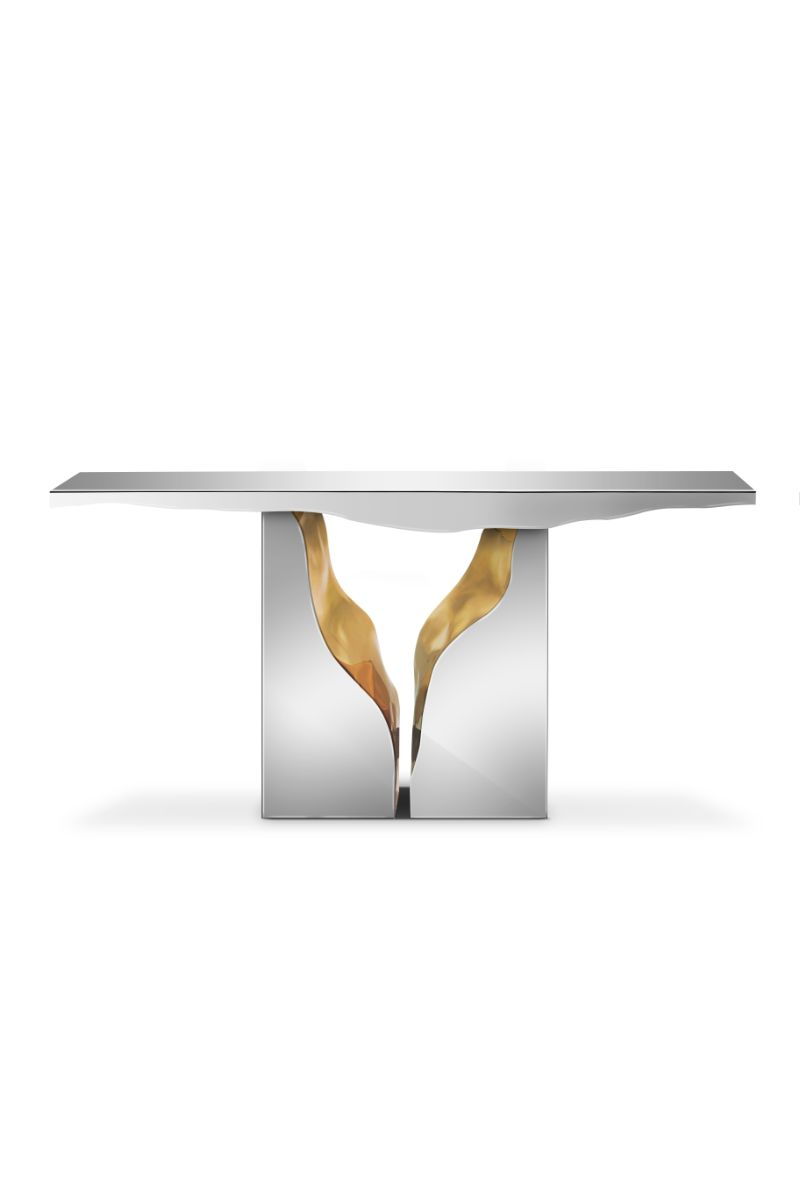 Gold Modern Console Tables for Your Entryway modern console tables Gold Modern Console Tables for Your Entryway Gold Modern Tables for Your Entryway 9