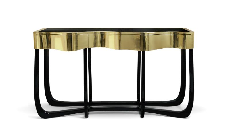 Gold Modern Console Tables for Your Entryway modern console tables Gold Modern Console Tables for Your Entryway Gold Modern Tables for Your Entryway